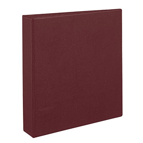 Avery Heavy-Duty Binder with 1.5-Inch One Touch EZD Ring, Maroon (79365)