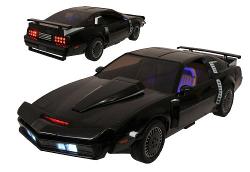 Diamond Select Toys Knight Rider Super Pursuit Mode KITT Electronic Action Figure Vehicle, 1:15 Scale (The Dark Knight Best Dialogues)