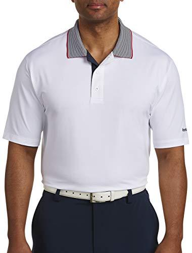 Reebok Big and Tall Golf Piqu Collar Polo