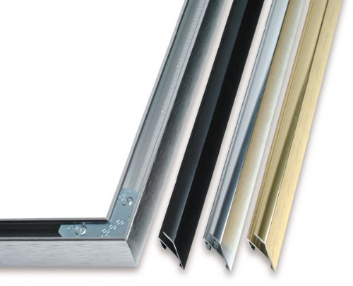 nielsen bainbridge metal frame kit silver 18 in