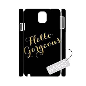 Hello Gorgeous Samsung Galaxy Note3 N9000 Protective 3D Case. Hello Gorgeous DIY Case for Samsung Galaxy Note3 N9000 at WANNG