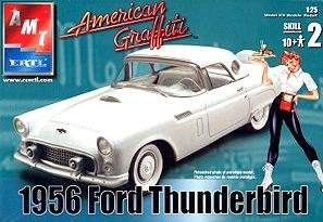 American Graffiti 1956 Ford Thunderbird  - Ford Thunderbird Model Kit Shopping Results