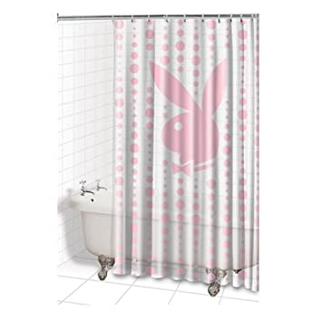 Image Unavailable Not Available For Color Playboy Vinyl Shower Curtain