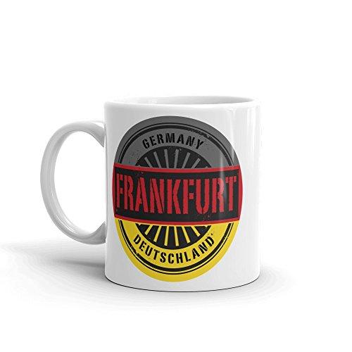 Frankfurt Germany Deutschland 10oz Coffee Tea Mug ()