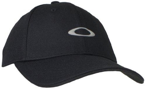 Oakley Men's Silicon Cap 2.0, Black, - For Golf Oakley Shoes Men