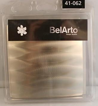 Rug 41–062Diseño Un diseño y Bahía de apertura para ventilador BelArto, acero inoxidable, Wel...