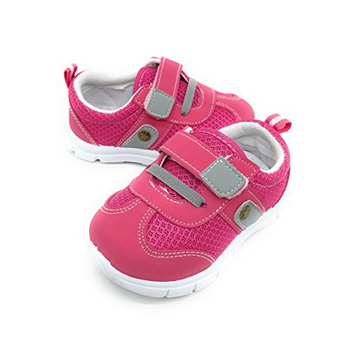 Baby Golf Shoes (Blue Berry EASY21 Baby Toddler Boys and Girls Breathable Fashion Sneakers,Fuchsia501,Size 5)