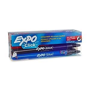 Amazon.com: EXPO Click Low-Odor Dry Erase Retractable