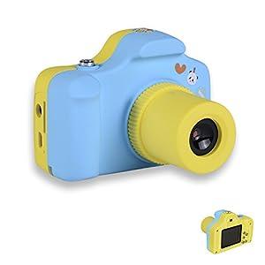 PANNOVO Mini 1.5 Inch Screen Children Kids Digital Camera (Blue)