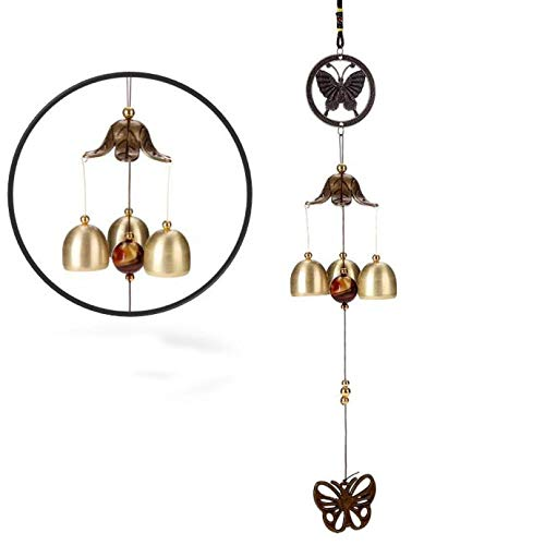 Autumn Water Amazing Chime Grace Collection Great Sound Bronze Color Bells Wind Chimes Wonderful