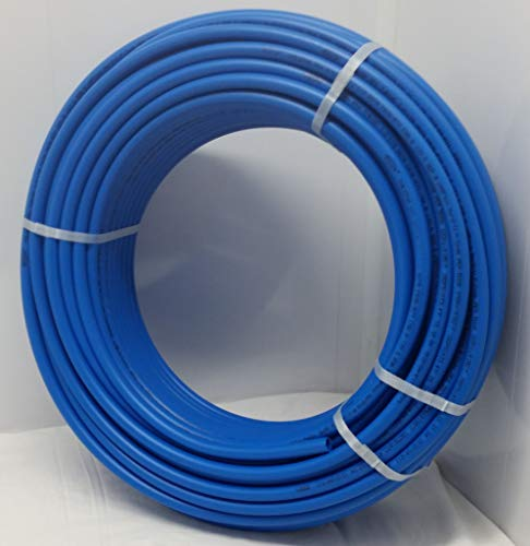 Pex Tubing White (1' - 100' Coil - Blue Certified Non-Barrier PEX Tubing Htg/Plbg/Potable Water)