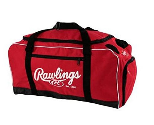 Rawlings Covert Baseball Duffel Bag Scarlet For Sale