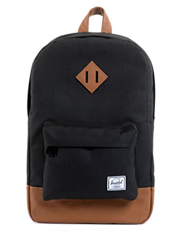 herschel-supply-co-heritage-mid-volume-black-one-size