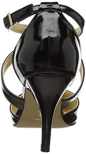 Marell Black Col Lotus Bbk Punta Scarpe Tacco Chiusa Donna black dPx4Cq