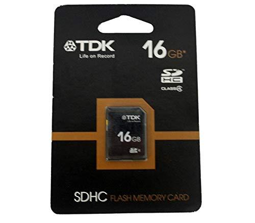 TDK - Tarjeta de Memoria SD de 16 GB: Amazon.es: Hogar