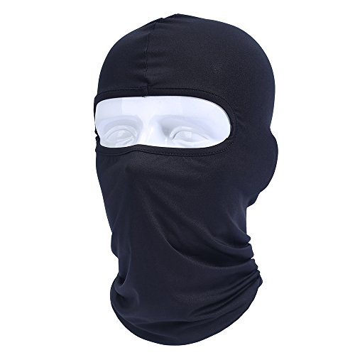 Od-sports Black Full Face Mask Cycling Motorcycle Balaclava Headwear Ski Neck Protecting Outdoor Full Face Mask