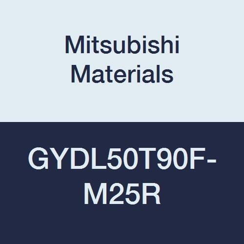 Mitsubishi Materials GYDL50T90F-M25R GY Series Modular Type Internal Grooving Holder with Right Hand M25 Modular Blade, Left Hand, 90° Angle, 80 mm Neck, 50 mm Height, 50 mm Width, 300 mm Length by Mitsubishi Materials