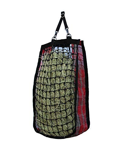 Kensington Slow Feed Hay Bag with Extra-Durable Nylon Straps Designed for Better Digestion, Colic-Free Feeding