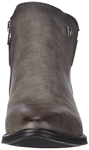 sintético mujer 258 Grau Booty Banani Grey Bruno gris material de botas Dk OXBWRq