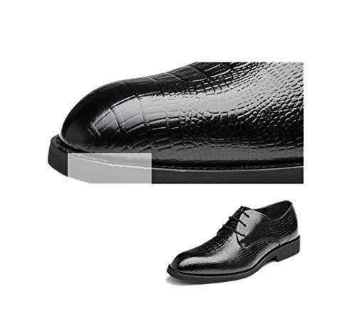 Caballero De Marrón Negro Hombres Puntiagudo Derby Zapatos Para Oficina Black Boda wTq8nf