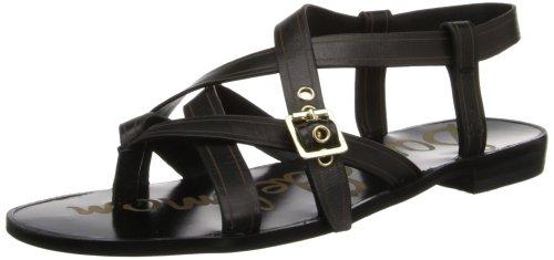 Sam Edelman Women's Corey Gladiator Sandal,Black,6 M US