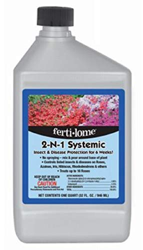 Voluntary Purchasing Group 10478 Fertilome Concentrate 2 in 1 Systemic Insect Fungicide, 32-Ounce