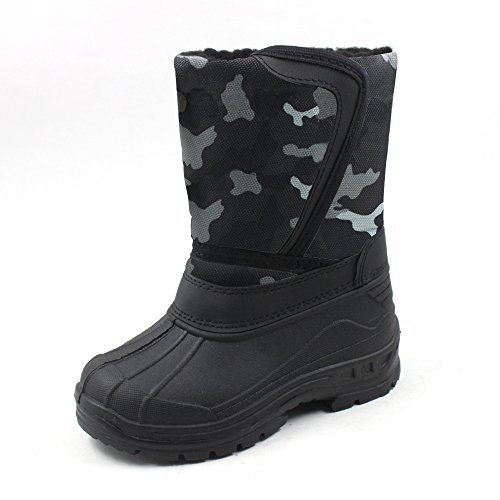 Ska-Doo Cold Weather Snow Boot 1319 Gray Camo Size Big Kid 6