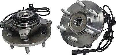 Detroit Axle 4x4 Front Wheel Hub and Bearing Assembly w/ABS 6-Lug [2004-05 Ford F-150 4x4 (Built Before 11/29/04 Production Date)] by Detroit Axle