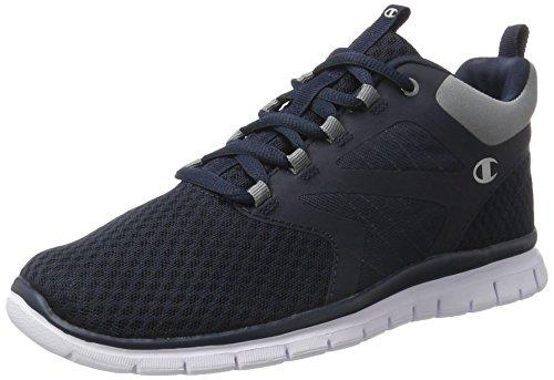 Champion Alphamid, Zapatillas de Running para Hombre Azul (Gry/org - Navyblau)