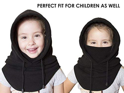 Balaclava Face Mask Ultimate Protection from Dust Aerosols  Elements  6 Ways to Wear