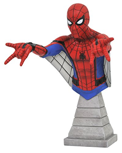 DIAMOND SELECT TOYS Marvel Spider-Man Homecoming: Spider-Man (Web Glider Version) Resin Figure Bust