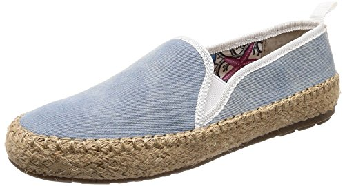 EMU Australia Womens Shoes Gum Canvas Light Denim Distress GjJjcgZ