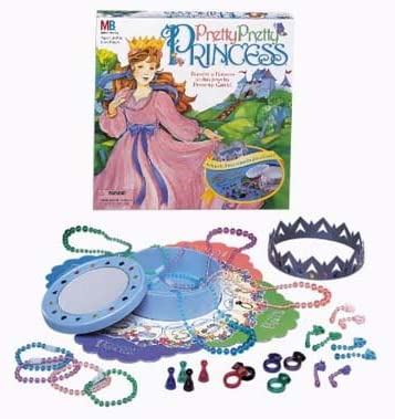 Amazon Com Pretty Pretty Princess Dress Up Board Game Toys Games