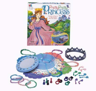 hasbro pretty pretty princess dress up board game