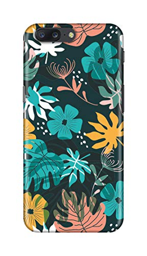 Shengshou Mobile Back Cover for OnePlus 5 Flower Art ABC629M37289