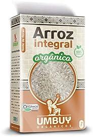 Arroz Integral Orgânico Umbuy Orgânicos 1KG