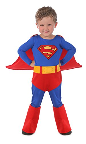 Princess Paradise Baby's Superman Cuddly Costume, Red, 18 to 24 (Toddler Superman Halloween Costume)