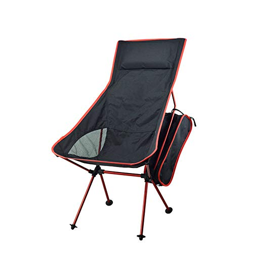 ✿Furniture✿Hstore,Light Weight Portable Foladable Outdoor Chair (42X15.5X13.5CM, Red)