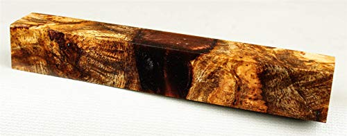 Stabilized Mango Burl, Hybrid Pen Blank, Craft Wood PB9405