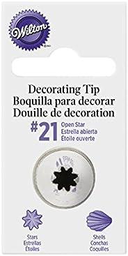 Wilton Dica de decoração, Estrela Nº 21