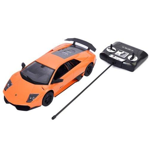 1:14 Lamborghini Murcielago LP670-4 SV Radio Remote Control RC Car Orange New by Unbranded*