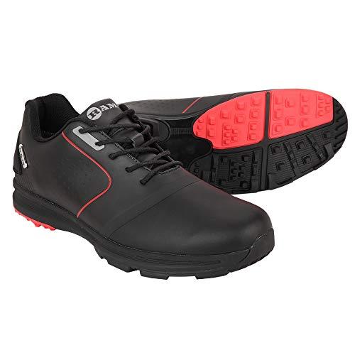 - Ram Player Golf Shoes-Black/Red- USA 13