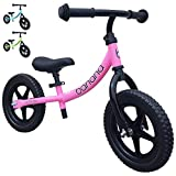 Banana Bike LT - Lightweight Balance Bike for Toddlers, Kids - 2, 3, 4 Year Olds (Pink 2019)