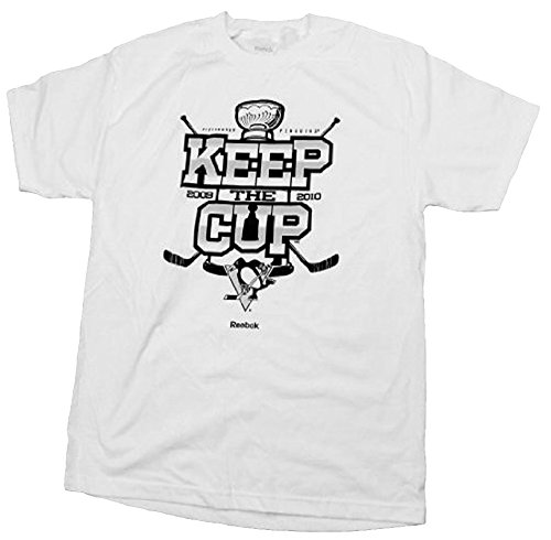 NHL Pittsburgh Penguins Keep The Cup Men's T-Shirt, White