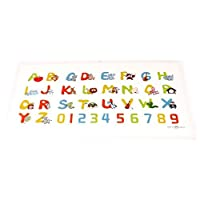 60 Count Disposable Placemats (Play)cemats for Babies and Toddlers, Creates a...