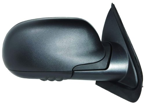 Ext Mirror - Depo 335-5410R3MF Texture Black Passenger Side Manual Mirror