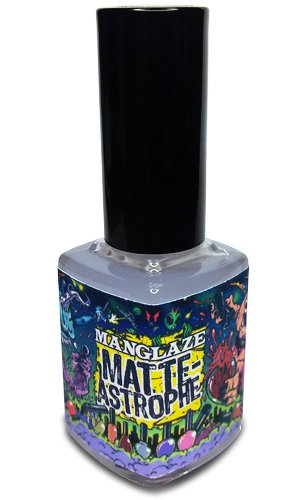 Amazon.com : Matte Top Coat Nail Polish, MatteAstrophe - Clear Top ...
