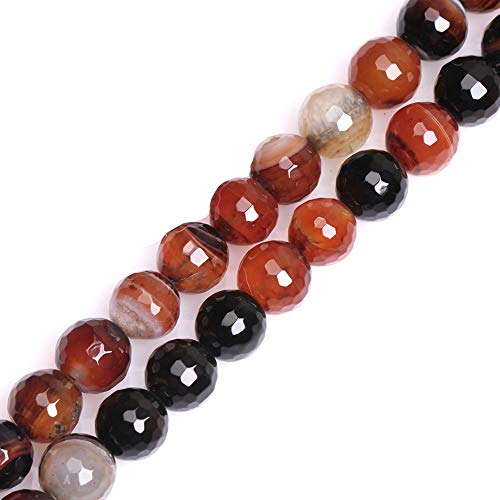 - GEM-inside Dream Agate Gemstone Loose Beads 10MM Facted Crystal Energy Stone Power For Jewelry Making 15