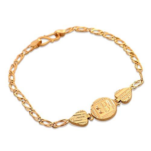 0426ab4c8fcd9 Senco Gold 22k (916) Yellow Gold Strand Bracelet for Men
