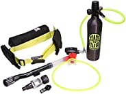 Spare Air Xtreme 6 Mini Scuba Kit for Up to 20 Minutes Underwater -Includes Waist Harness, SPG, Regulators, Re